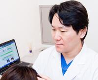 医師による毛髪診断